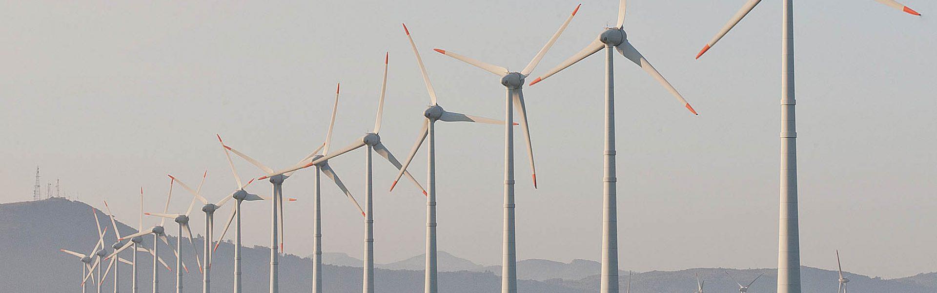 PORTO ALEGRE, RS, BRASIL, 22.08.12: Parque eólico de Osório. Foto: Claudio Fachel/Palácio Piratini